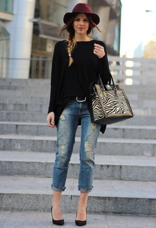 мода объемные свитера