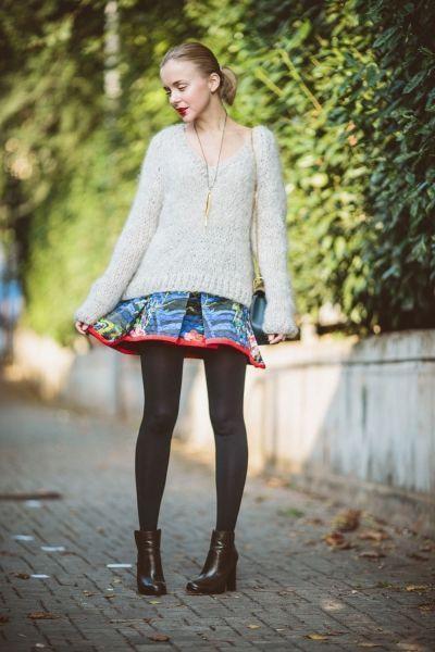 свитера-юбки