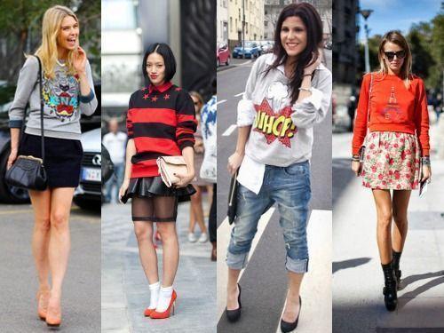 свитер обхемный мода