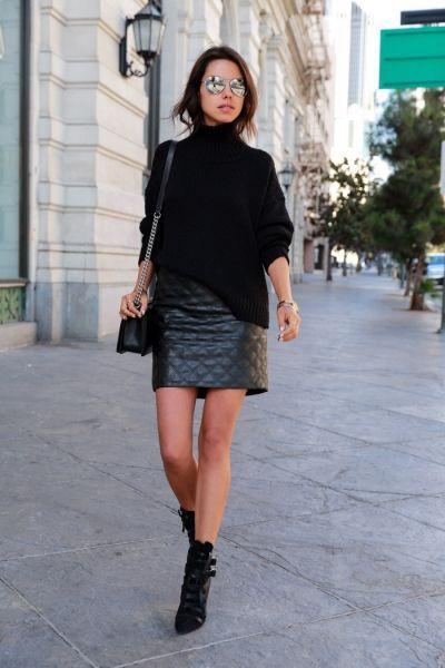 свитер-юбка