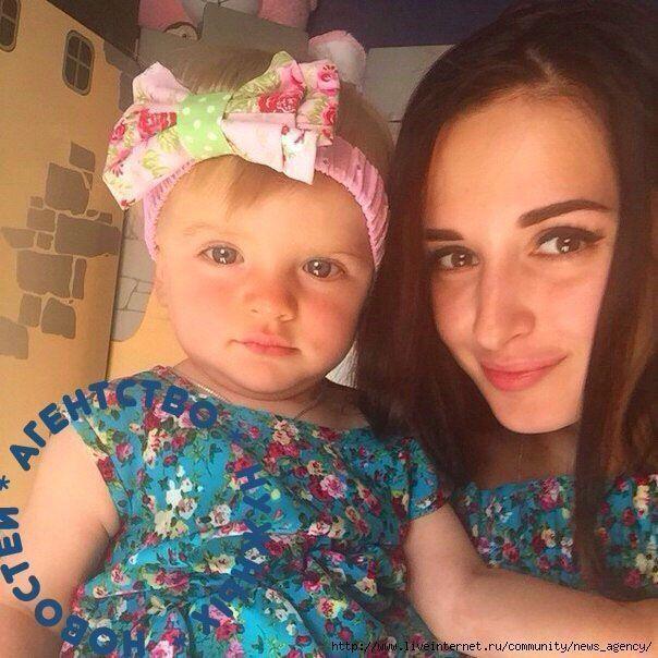 рита с дочкой