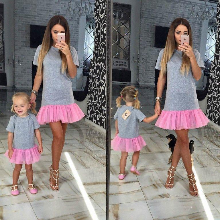 платье дочки