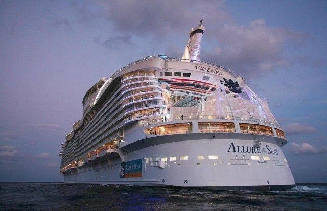самый большой корабль в мире очарование морей