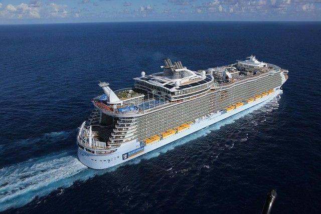 самый большой корабль в мире очарование 1