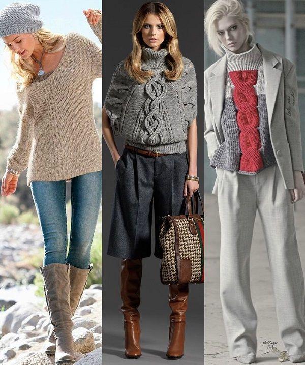 Модный Пуловер 2017