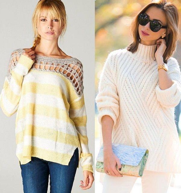 Модные Вязаные Пуловеры 2017 С Доставкой