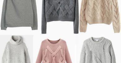 Самые модные свитера 2017 фото